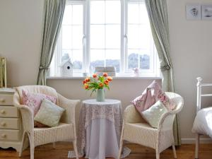 A seating area at The Little House