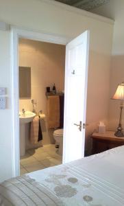A bathroom at Gramarcy House