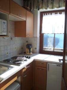 Кухня или мини-кухня в Huberhof