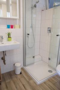 A bathroom at Haidegger Appartements