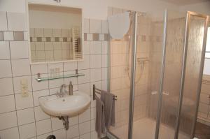 Ein Badezimmer in der Unterkunft Dautzenberg Ferienapartments