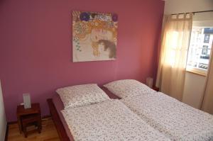 Ein Bett oder Betten in einem Zimmer der Unterkunft Dautzenberg Ferienapartments