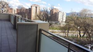 Balcó o terrassa a Acà Y Allà Apartamento Alfonso El Batallador