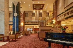 A billiards table at Safir Hotel Cairo