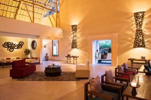 The lobby or reception area at Essque Zalu Zanzibar