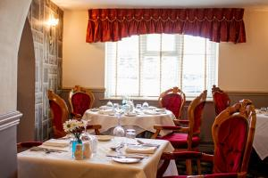 A restaurant or other place to eat at The Boars Head Hotel
