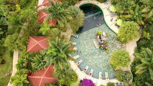 A bird's-eye view of Paradise Hot Springs