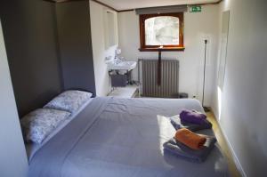 Cama o camas de una habitación en B&B B³ Boat