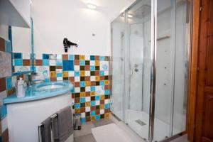 A bathroom at Le Stanze Del Centro
