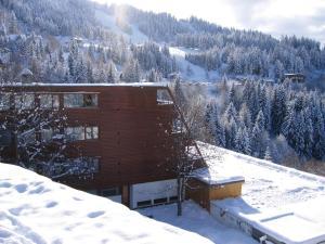 L'établissement Hôtel Arcadien en hiver