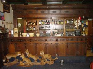 De lounge of bar bij De Oude Schouw