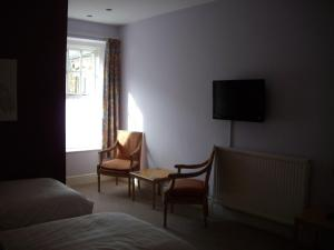 A television and/or entertainment center at Dynevor Arms