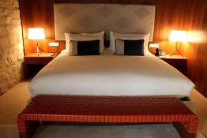 Llit o llits en una habitació de Mercer Hotel Barcelona