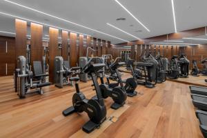 Gimnasio o instalaciones de fitness de Royal Hideaway Corales Suites, by Barceló Hotel Group