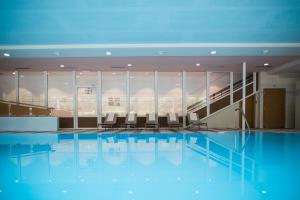 The swimming pool at or near Hotel Union