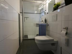 A bathroom at Ferienwohnung Horbach