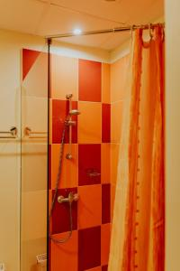 A bathroom at Viesu māja Baltika