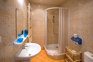 Salle de bains dans l'établissement U Zlate Podkovy - At The Golden Horseshoe