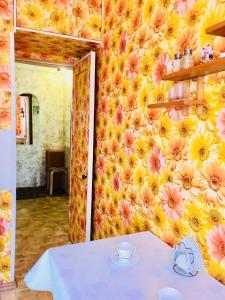 Ванная комната в Apartment near metro Electrosila