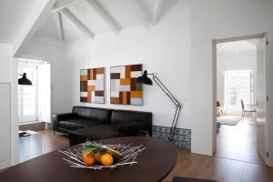 Uma área de estar em Lisbon Serviced Apartments - Baixa