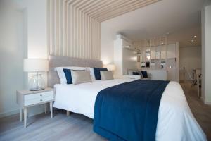 Cama o camas de una habitación en Almada Wine House