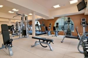 The fitness center and/or fitness facilities at The Seelbach Hilton Louisville