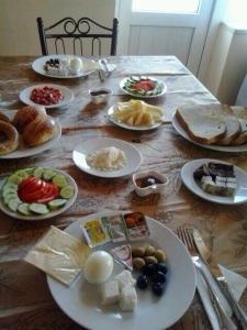 خيارات الإفطار المتوفرة للضيوف في شقق جولر