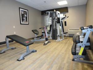 The fitness center and/or fitness facilities at The Academy Hotel Colorado Springs