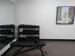 The fitness center and/or fitness facilities at Best Western Plus New Richmond Inn & Suites