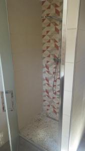 Koupelna v ubytování RESIDENCE U RE D' ALZETTU
