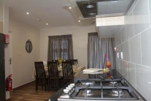 A kitchen or kitchenette at Residence Argine
