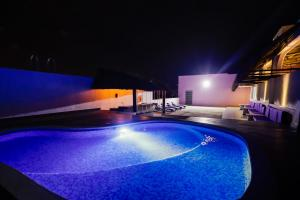 The swimming pool at or near Hotel Kavia