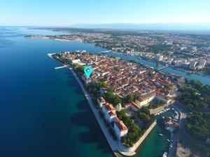 Ptičja perspektiva objekta Lux Zadar No.6