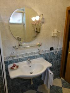 A bathroom at Hotel Levico