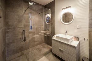 Łazienka w obiekcie Apartamenty toruńskie pod Krzywą Wieżą