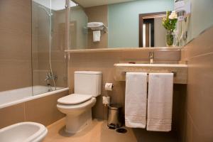 A bathroom at Hotel y Apartamentos Conilsol