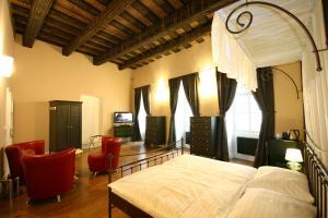 Postel nebo postele na pokoji v ubytování U Tří Bubnů