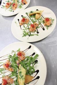 Opcje lunchowe lub kolacji w obiekcie Karczma Rycerska Lebork