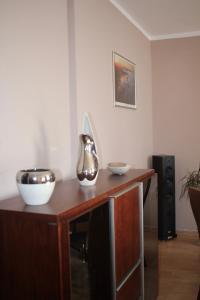 Kuchnia lub aneks kuchenny w obiekcie Apartament Jantarowa
