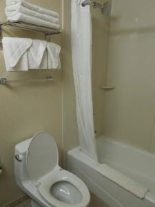 Salle de bains dans l'établissement Queens County Inn and Suites