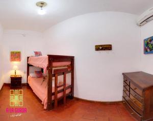 A bunk bed or bunk beds in a room at A la Gurda