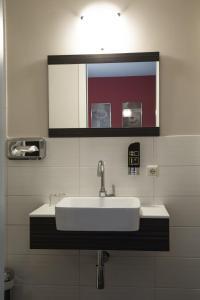 A bathroom at Landhaus Elbeflair bei Dömitz