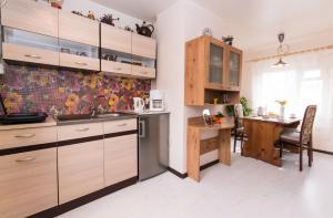 Köök või kööginurk majutusasutuses Laterna Accommodation