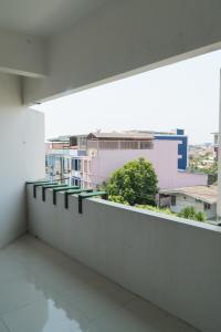 A balcony or terrace at Noble House Chiangmai