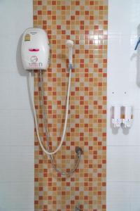 A bathroom at Noble House Chiangmai