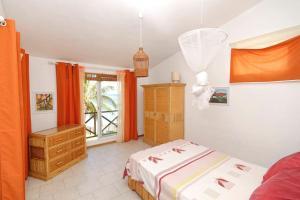 Un ou plusieurs lits dans un hébergement de l'établissement Villa Mauridul