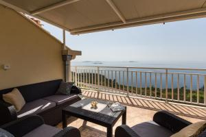 A balcony or terrace at Apartment M&K