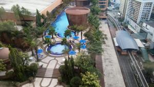 A view of the pool at Grand Service Apartment @ Times Square or nearby