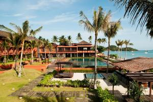 A view of the pool at Hansar Samui Resort & Spa - SHA Plus or nearby