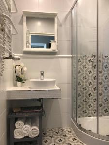 Łazienka w obiekcie Pod Platanem Gliwice